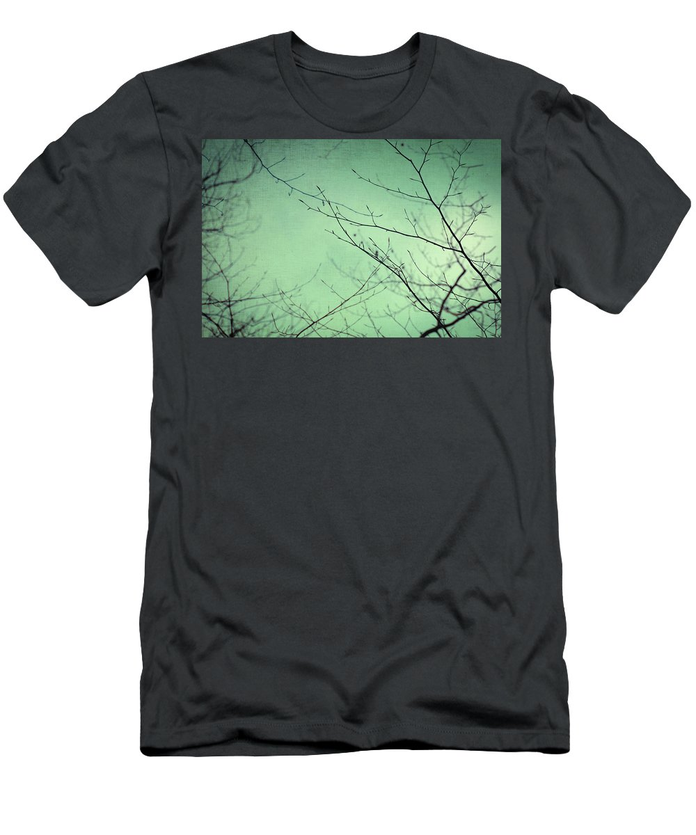 Nature Men's T-Shirt (Athletic Fit) featuring the photograph Touching The Sky by Zapista