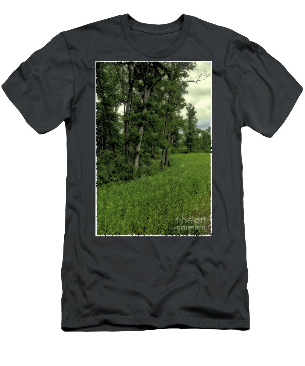 Tree Men's T-Shirt (Athletic Fit) featuring the photograph Trees by Madeline Ellis