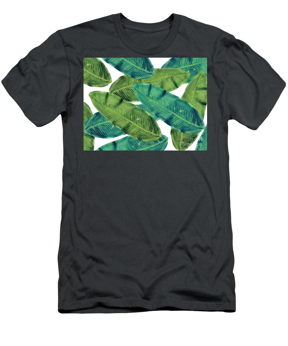 Summer T-Shirt featuring the digital art Tropical Colors 2 by Mark Ashkenazi