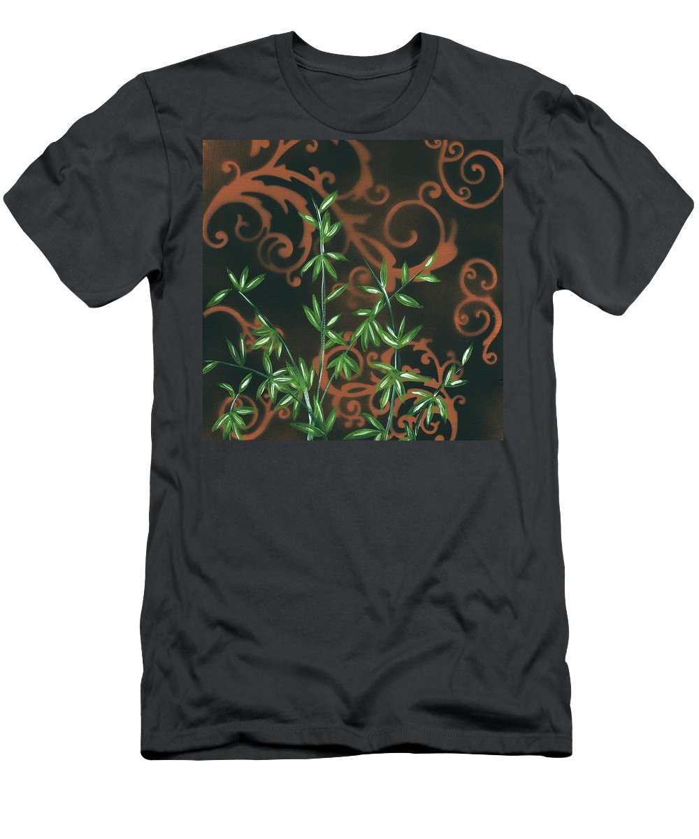 Wall T-Shirt featuring the painting Tropical Dance 2 By Madart by Megan Duncanson