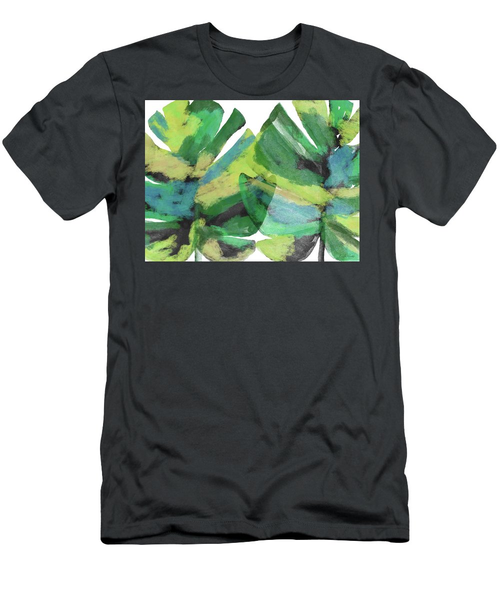 Tropical T-Shirt featuring the mixed media Tropical Dreams 1- Art by Linda Woods by Linda Woods
