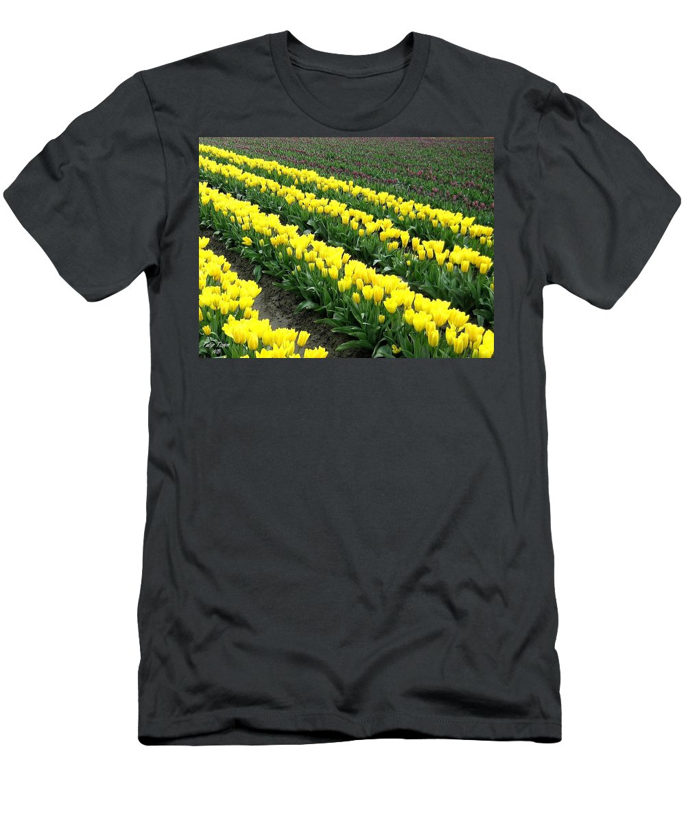 Agriculture Men's T-Shirt (Athletic Fit) featuring the photograph Tulip Town 9 by Will Borden
