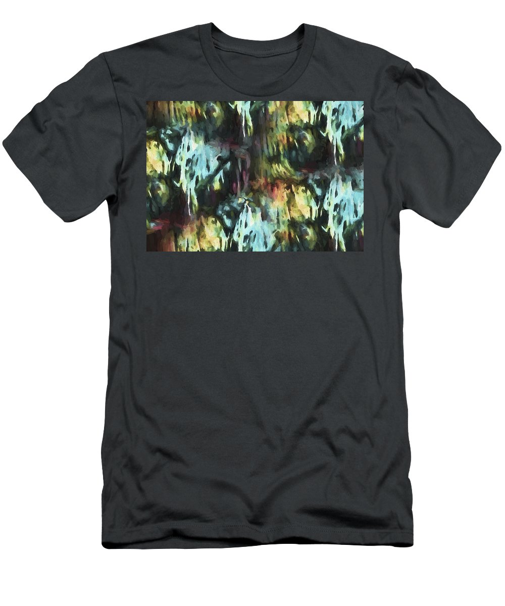 Evie Men's T-Shirt (Athletic Fit) featuring the photograph Twilight Labyrinthine by Evie Carrier