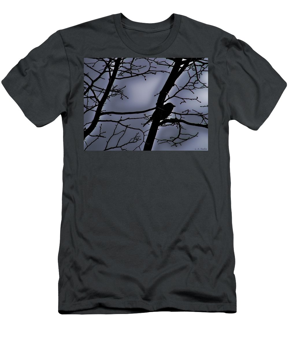 Night Men's T-Shirt (Athletic Fit) featuring the photograph Twilight by Lauren Radke