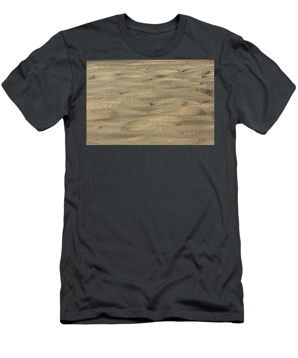 Sand Men's T-Shirt (Athletic Fit) featuring the photograph Undulating Beauty by Hany J