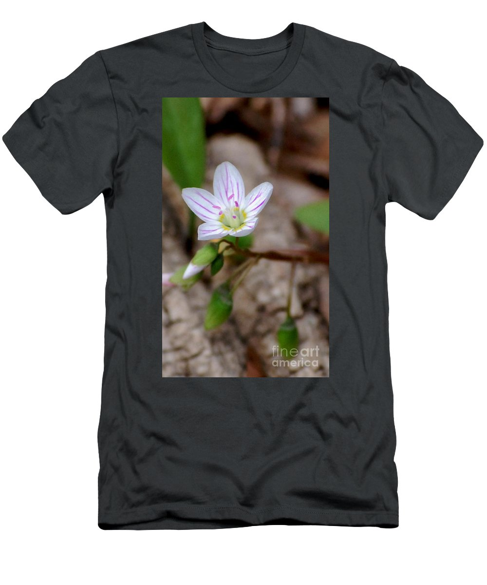 Floral Men's T-Shirt (Athletic Fit) featuring the photograph Untitiled Floral by David Lane