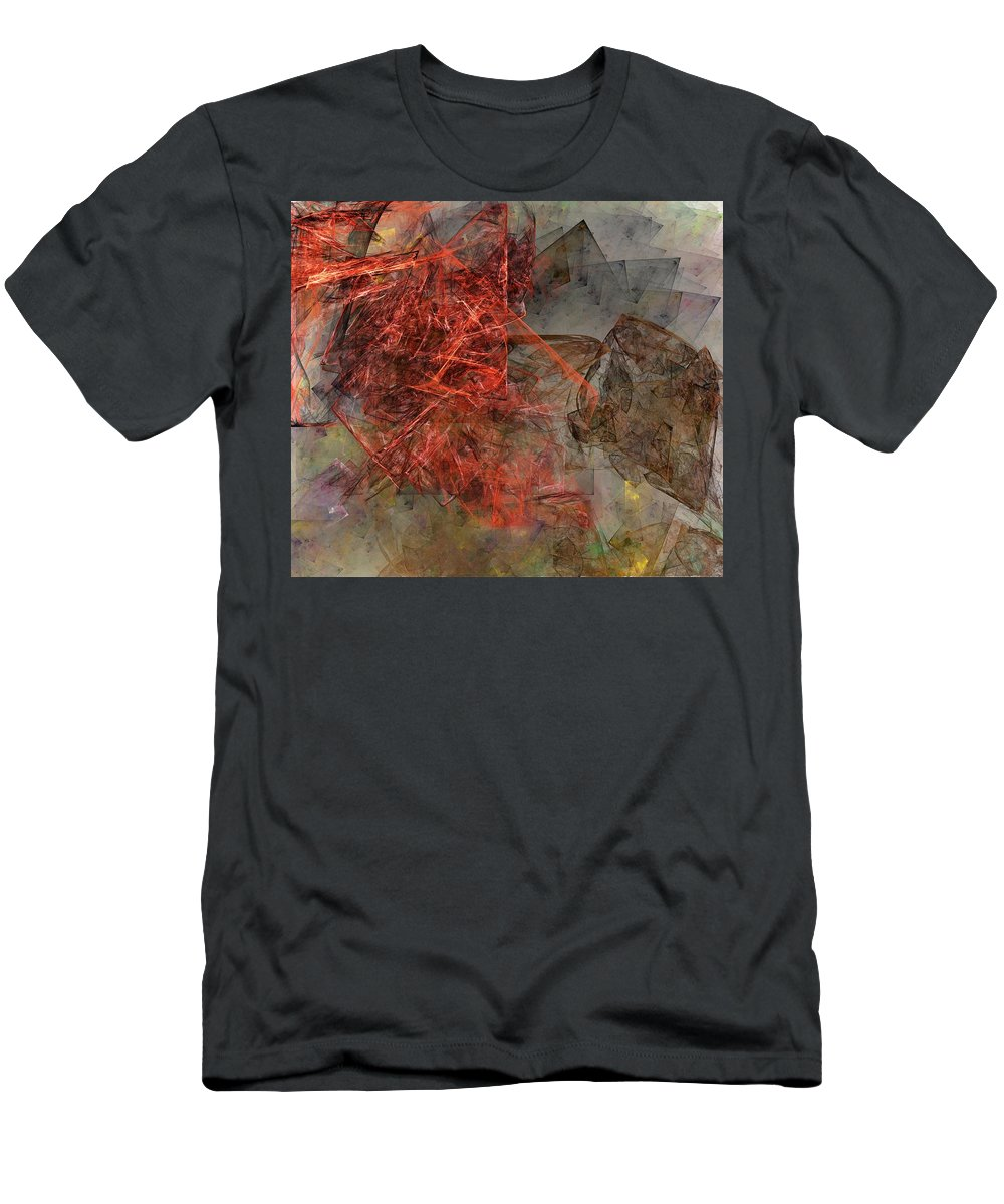 Digital Painting Men's T-Shirt (Athletic Fit) featuring the digital art Untitled 01-15-10-a by David Lane