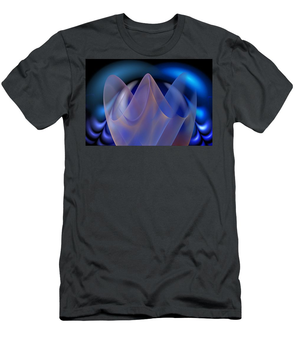 Digital Painting Men's T-Shirt (Athletic Fit) featuring the digital art Untitled 01-15-10-d by David Lane