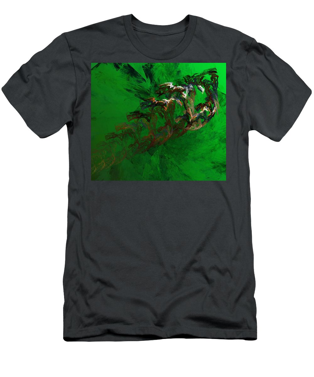 Digital Painting Men's T-Shirt (Athletic Fit) featuring the digital art Untitled 01-15-10 by David Lane
