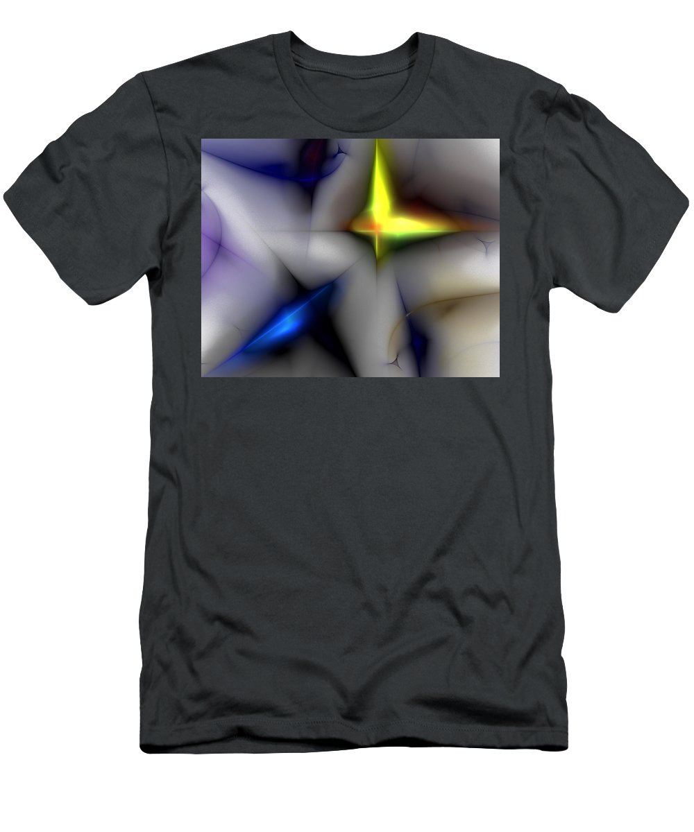 Digital Painting Men's T-Shirt (Athletic Fit) featuring the digital art Untitled 4-13-10 by David Lane