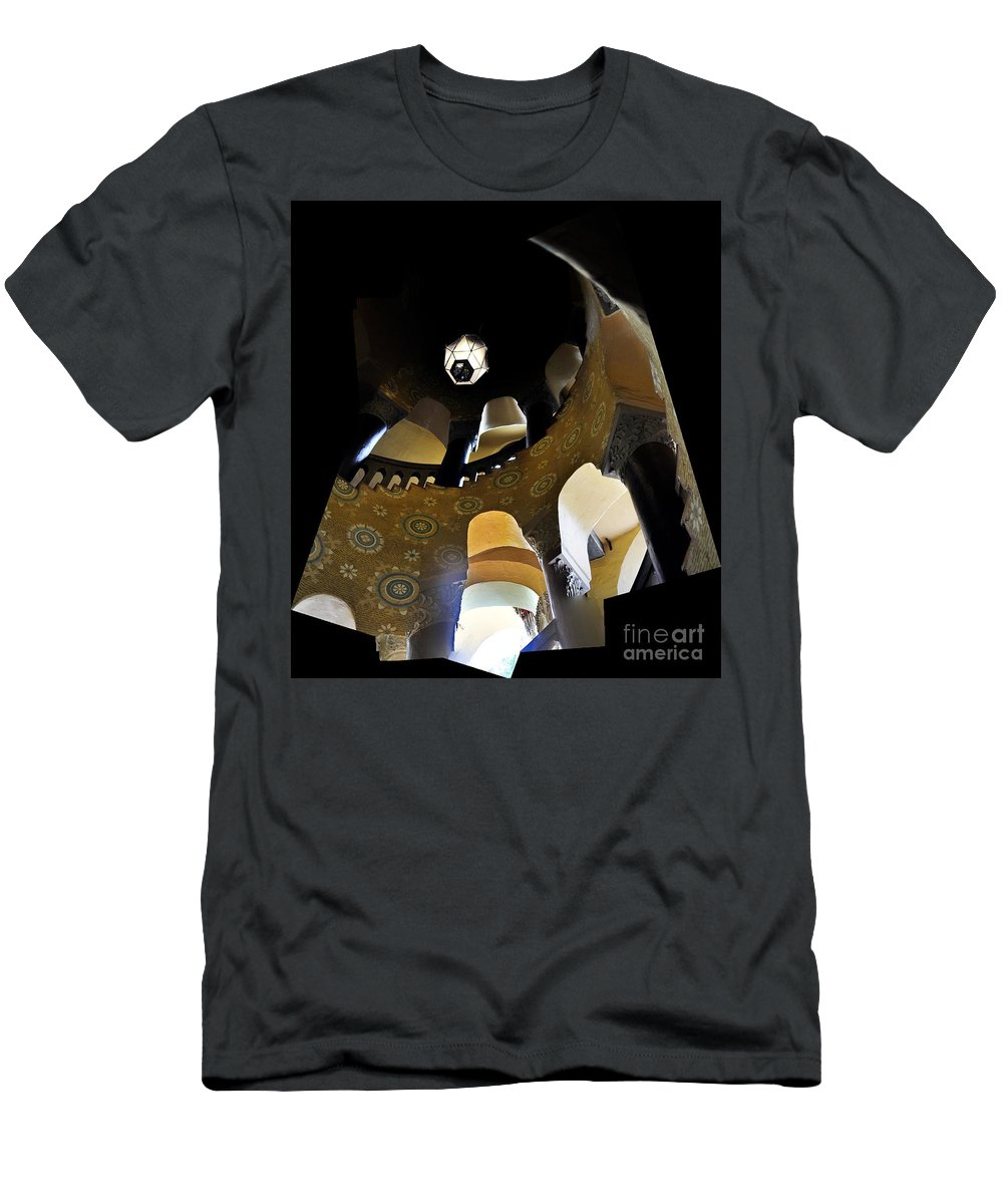 Clay Men's T-Shirt (Athletic Fit) featuring the photograph Up by Clayton Bruster