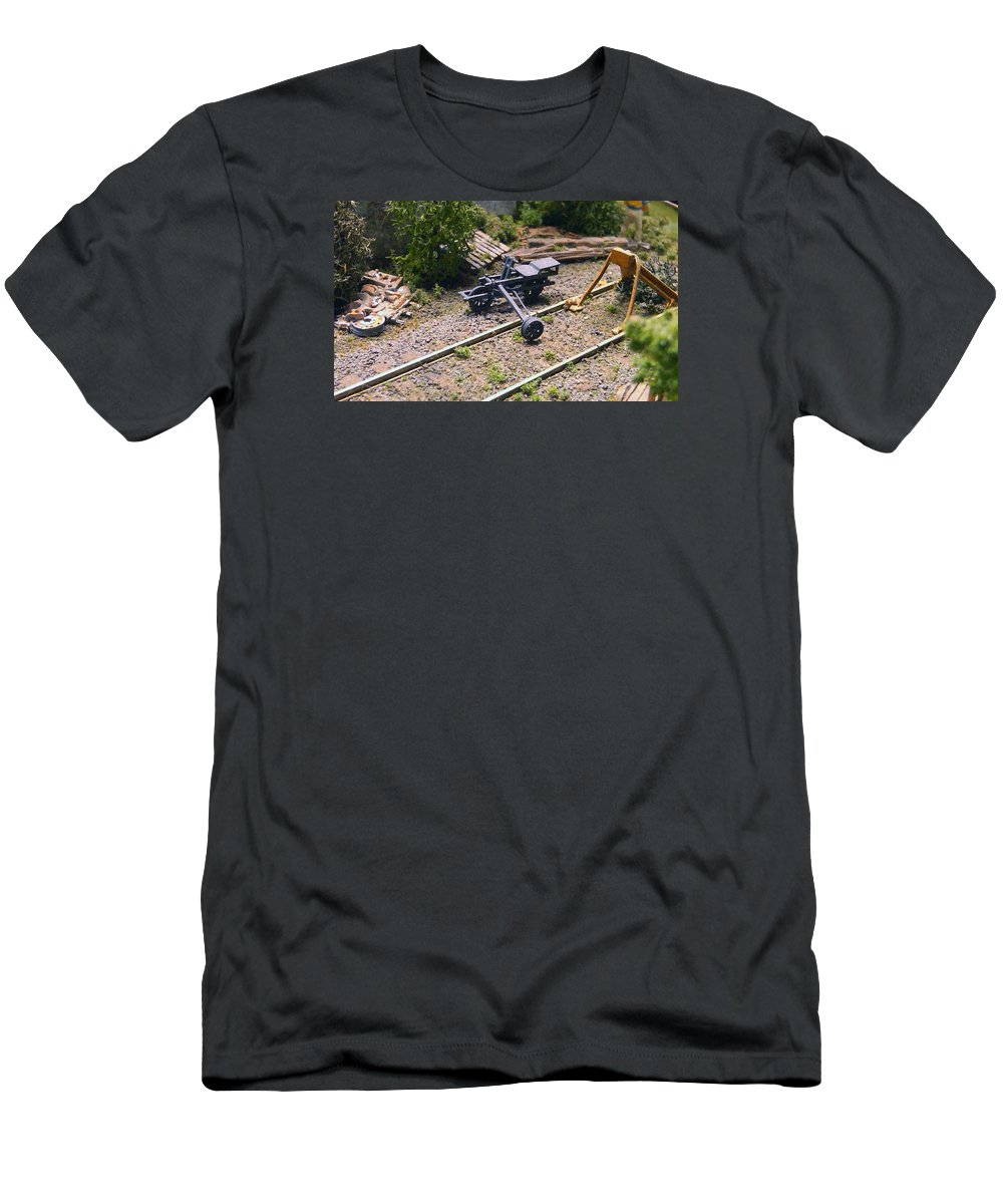 Pat Turner Men's T-Shirt (Athletic Fit) featuring the photograph Velocipede by Pat Turner