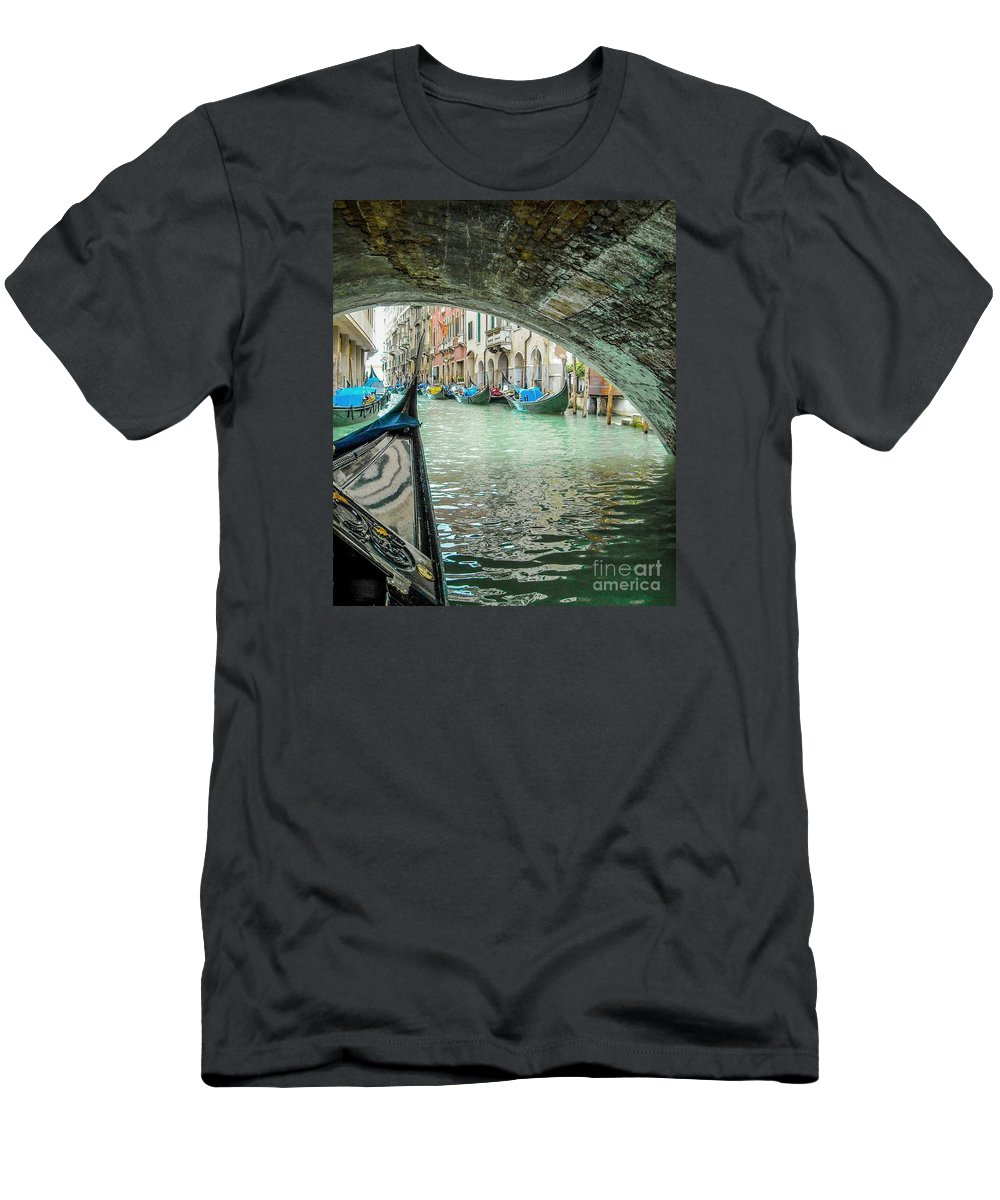Venice Men's T-Shirt (Athletic Fit) featuring the photograph Venice Troll by Lisa Kilby