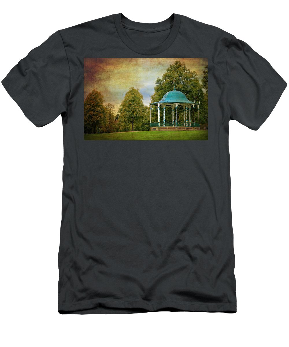 Victorian Men's T-Shirt (Athletic Fit) featuring the photograph Victorian Entertainment by Meirion Matthias