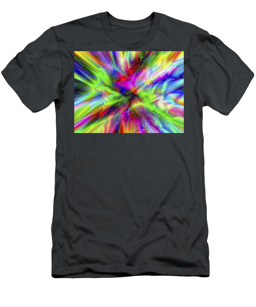 Colors T-Shirt featuring the digital art Vision 1 by Jacques Raffin