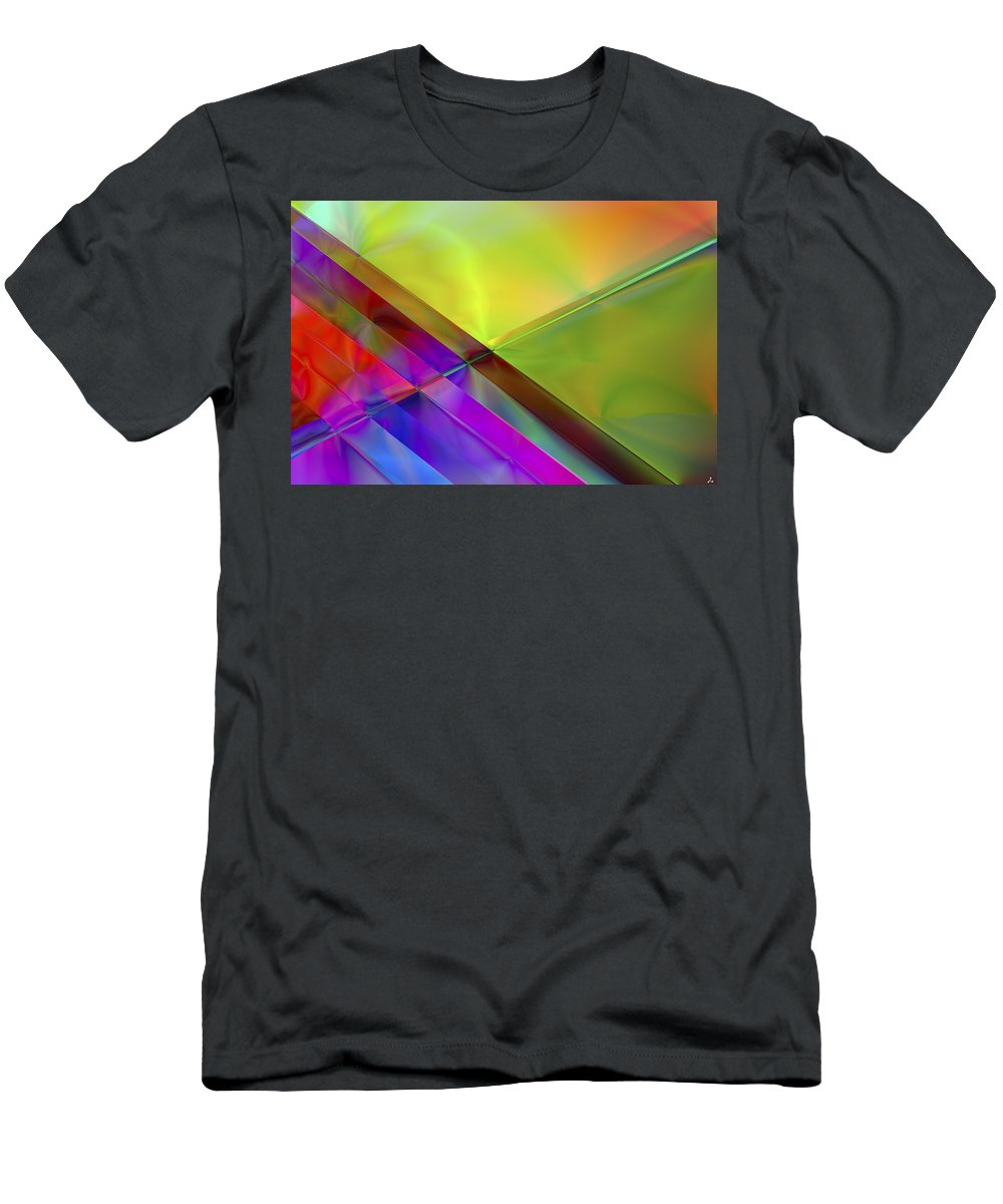 Colors T-Shirt featuring the digital art Vision 3 by Jacques Raffin