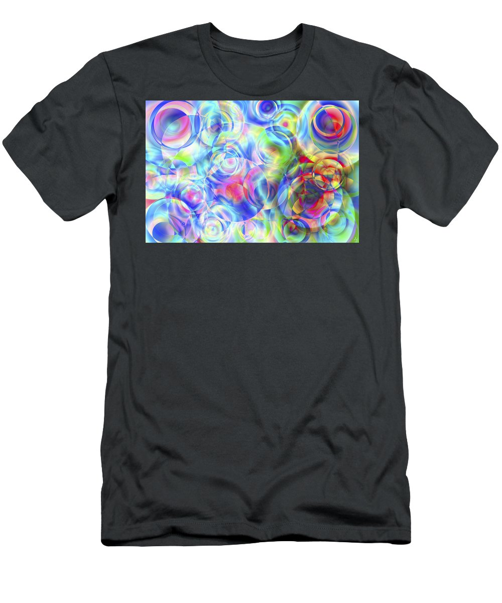 Colors T-Shirt featuring the digital art Vision 4 by Jacques Raffin