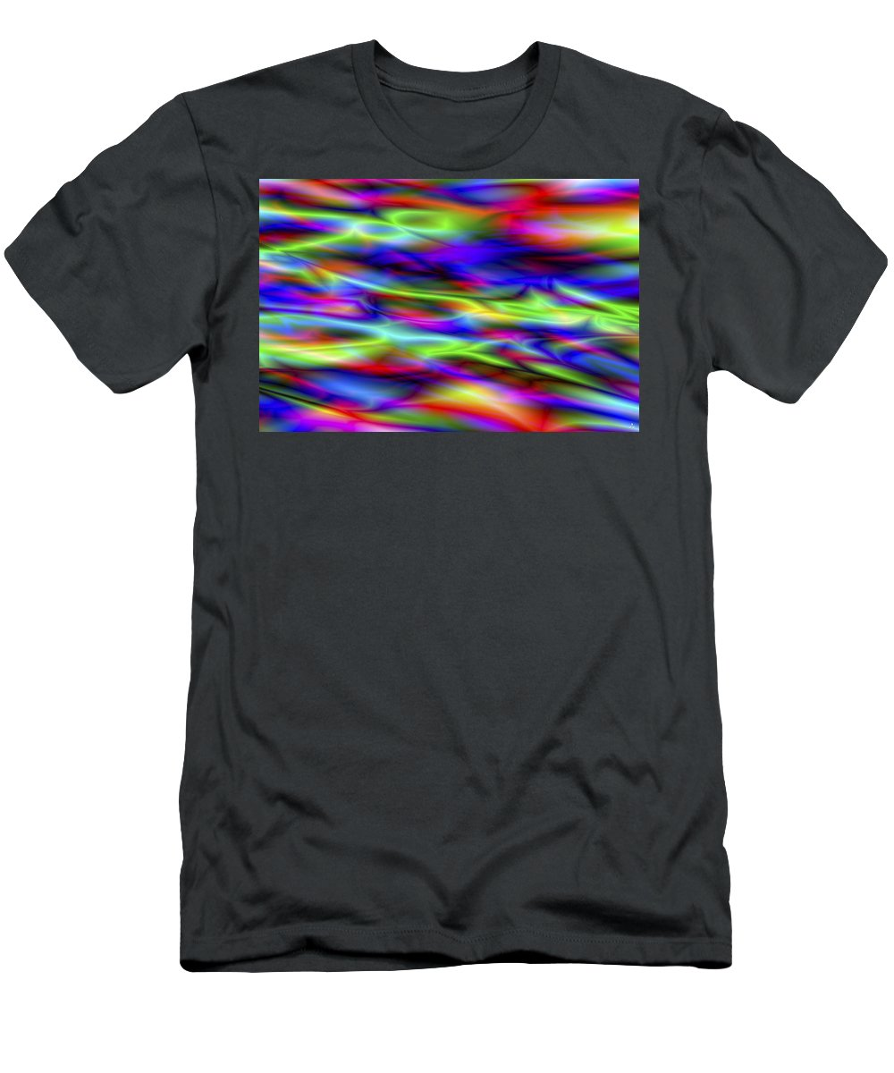 Colors T-Shirt featuring the digital art Vision 5 by Jacques Raffin