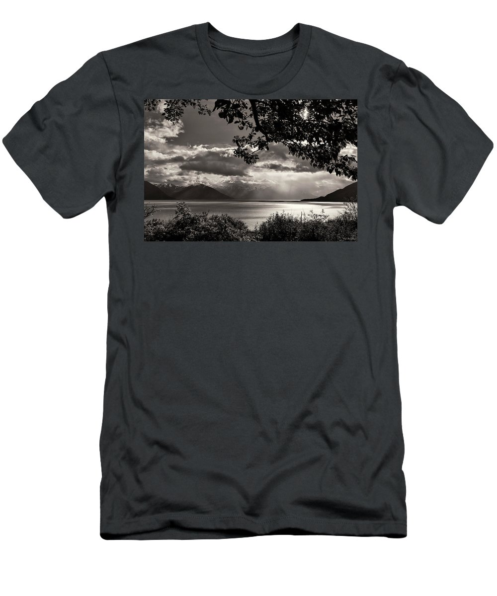 Alaska Men's T-Shirt (Athletic Fit) featuring the photograph Visions Of Hope by Ray Bulson