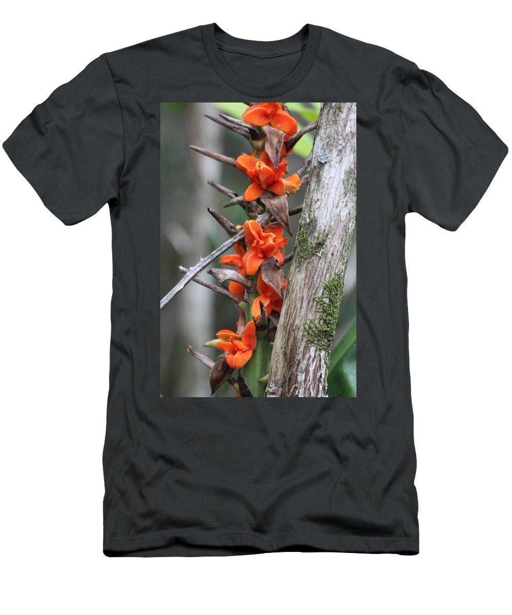 Kauai Men's T-Shirt (Athletic Fit) featuring the photograph Waimea Flowers by Lauri Novak