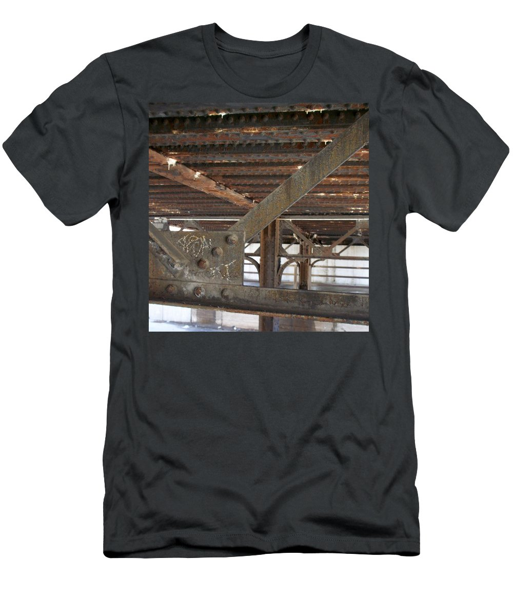 Walker's Point Men's T-Shirt (Athletic Fit) featuring the photograph Walker's Point 6 by Anita Burgermeister