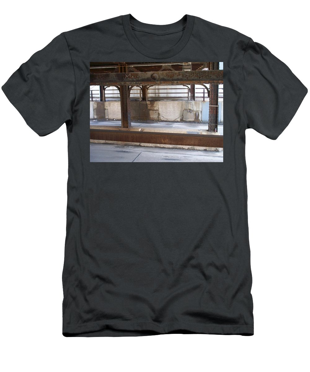 Walker's Point Men's T-Shirt (Athletic Fit) featuring the photograph Walker's Point 7 by Anita Burgermeister