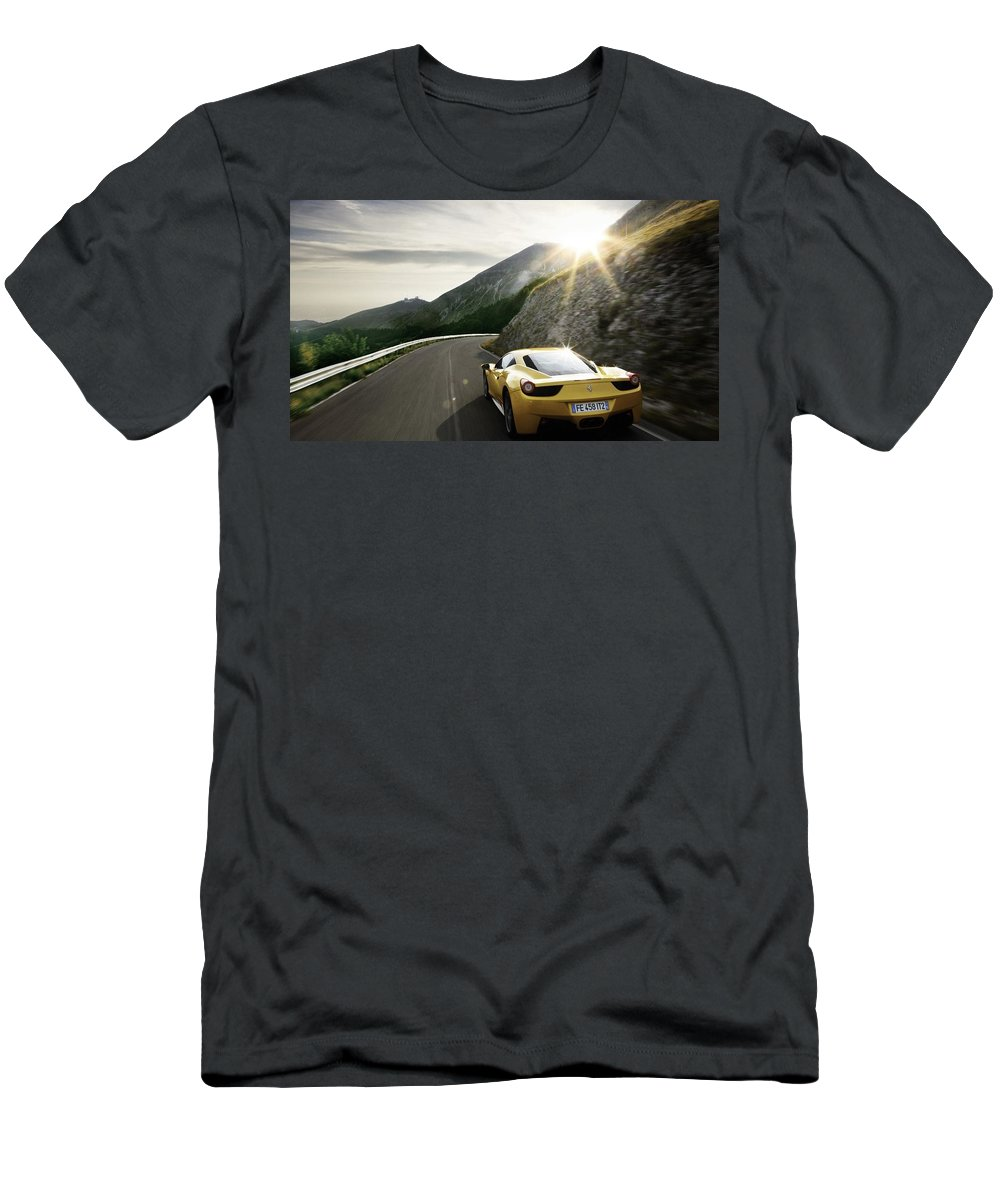 Wallup 1415 Men's T-Shirt (Athletic Fit) featuring the digital art Wallup 11745415 by Anne Pool