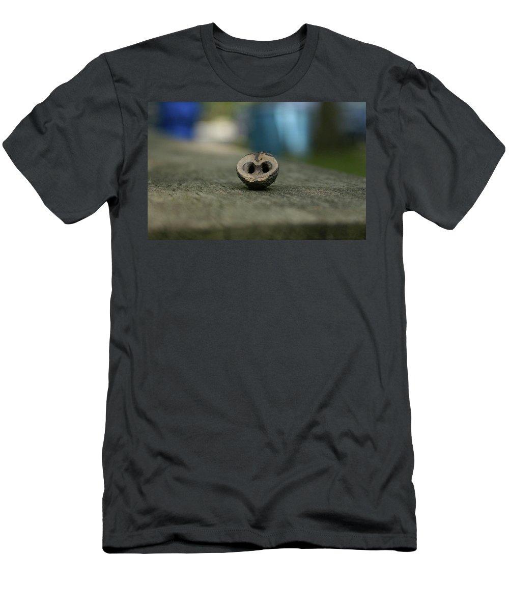Walnut Men's T-Shirt (Athletic Fit) featuring the photograph Walnut by Amanda Camarata