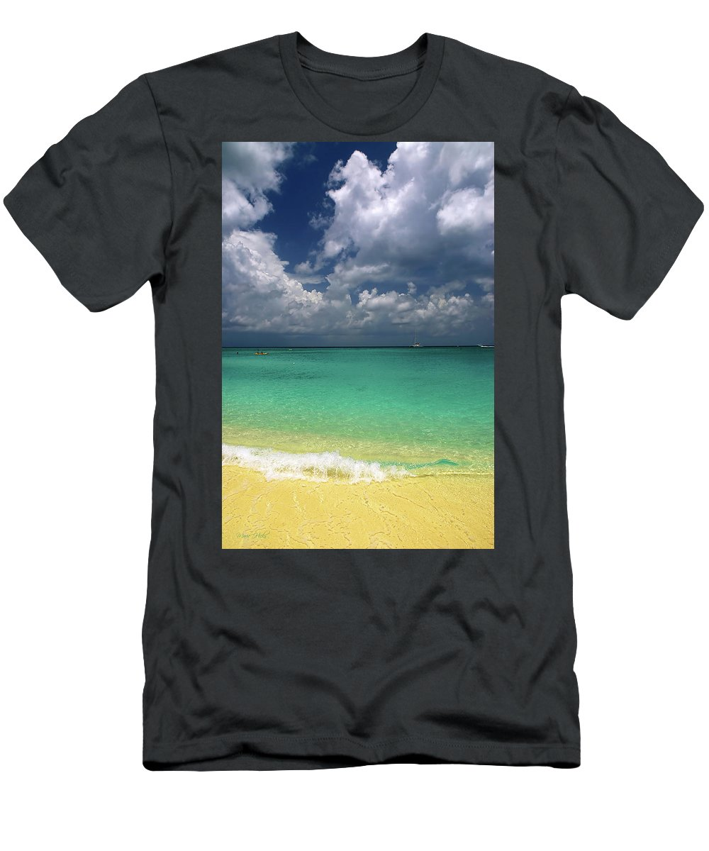 Grand Men's T-Shirt (Athletic Fit) featuring the photograph Welcome To Paradise by Marie Hicks