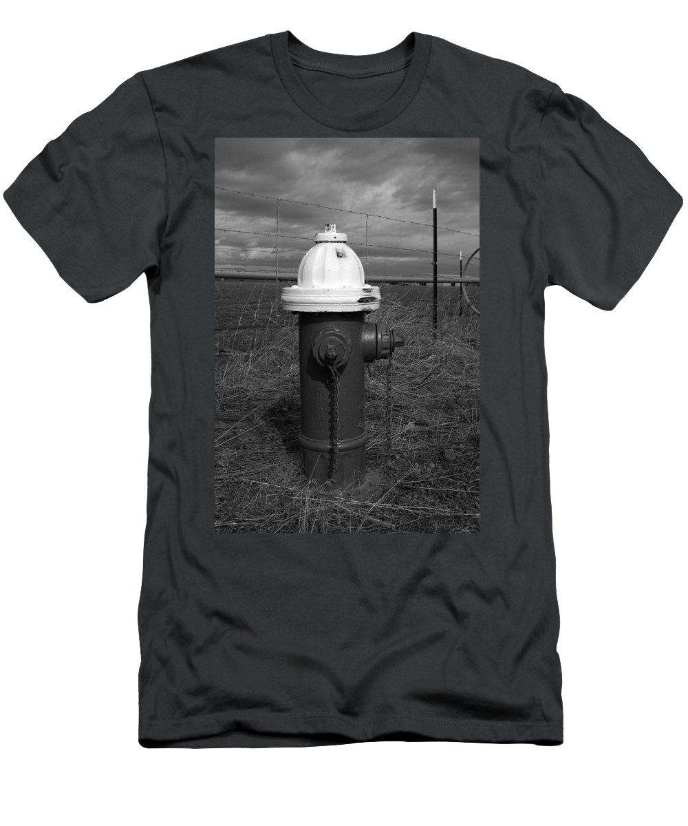 Fire Men's T-Shirt (Athletic Fit) featuring the photograph White Cap by Sara Stevenson