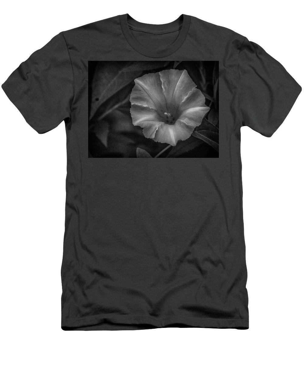 Flower Men's T-Shirt (Athletic Fit) featuring the photograph White Glory by Larry Pegram