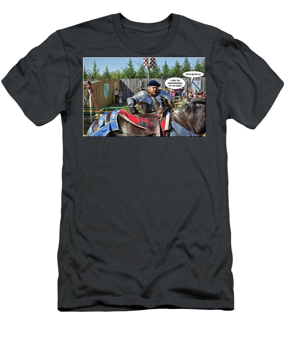 2d Men's T-Shirt (Athletic Fit) featuring the photograph Whoa Big Fella by Brian Wallace
