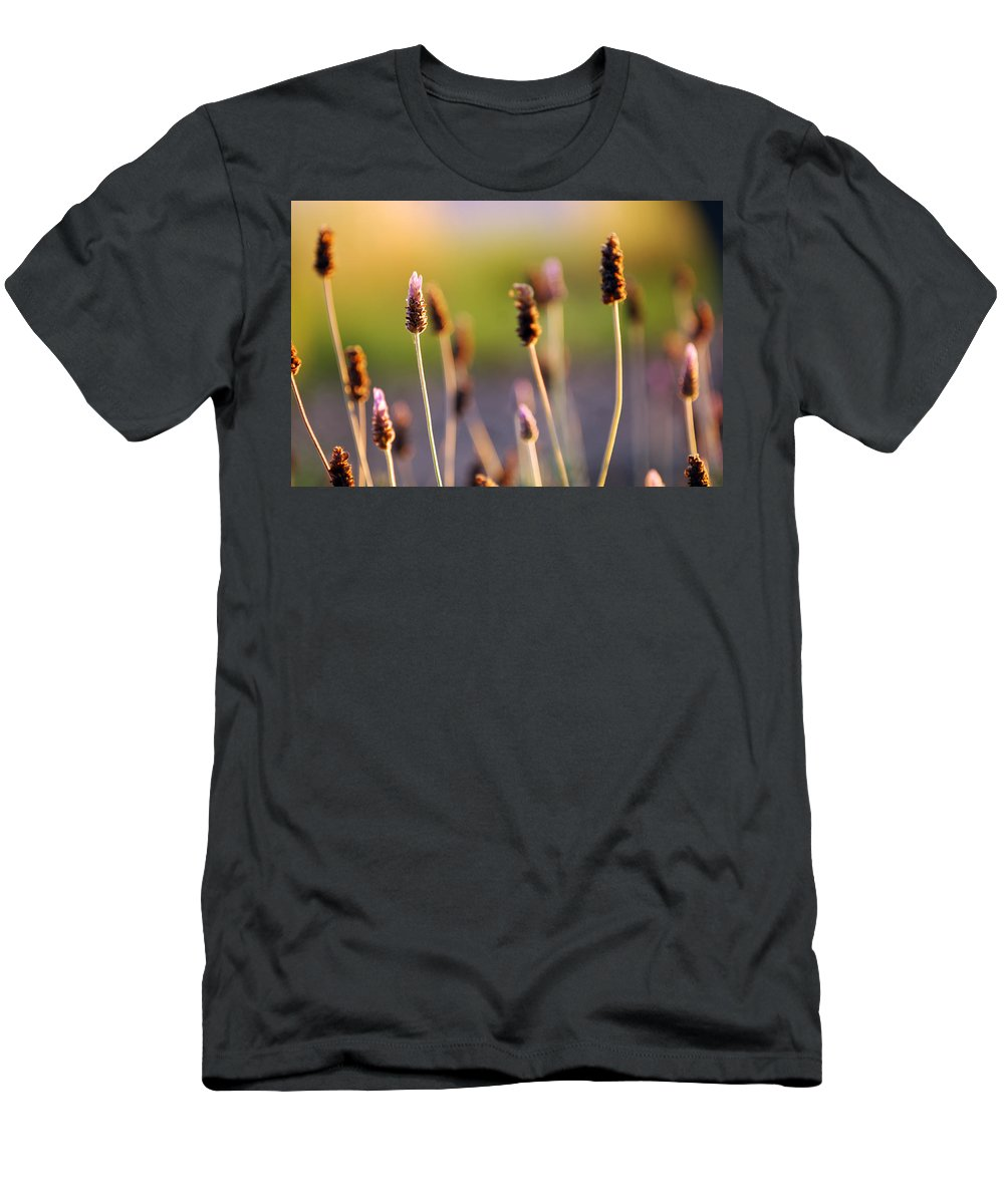 Nature Men's T-Shirt (Athletic Fit) featuring the photograph Wildflower 2 by Jill Reger
