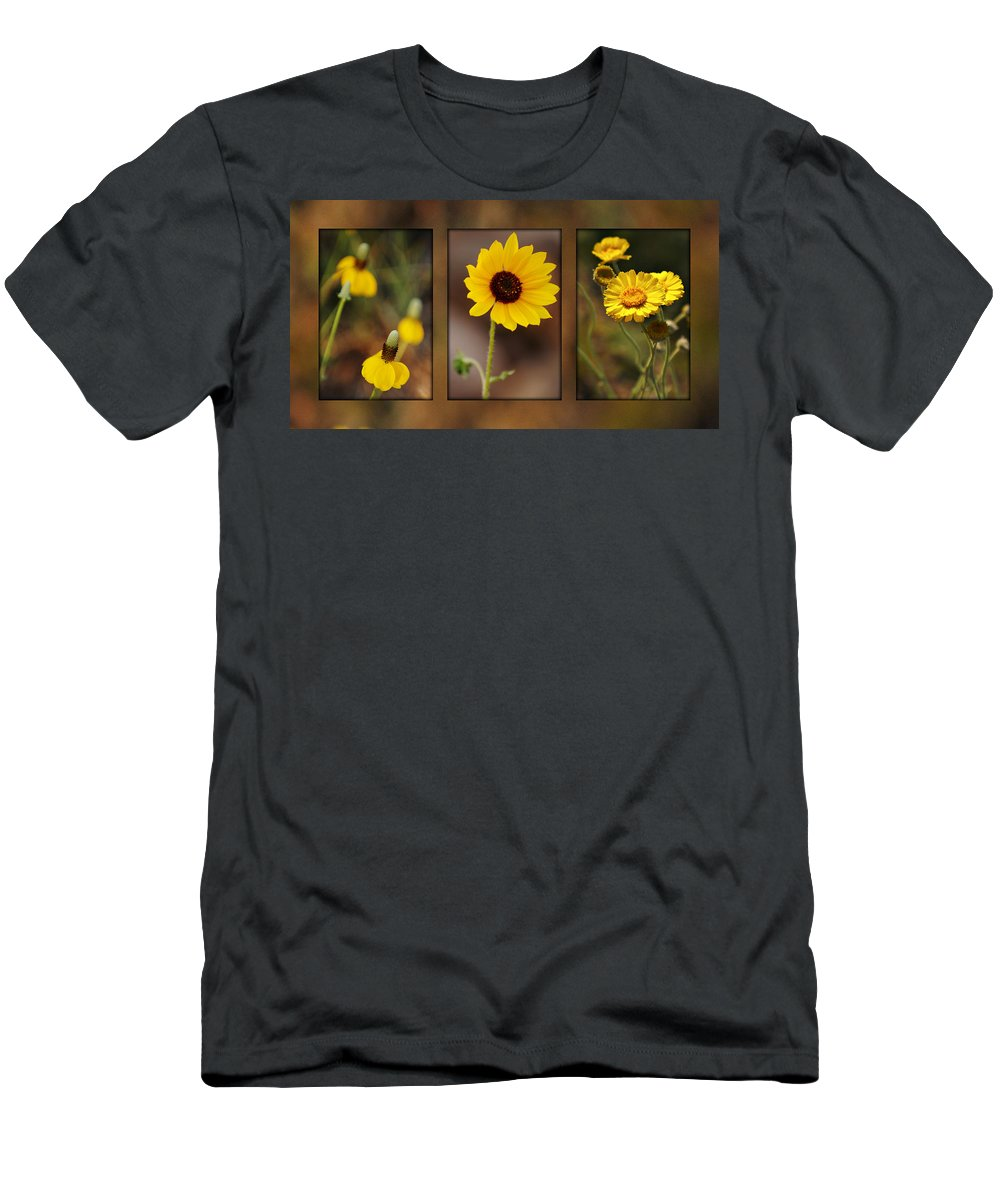 Wildflower Men's T-Shirt (Athletic Fit) featuring the photograph Wildflower 3 by Jill Reger