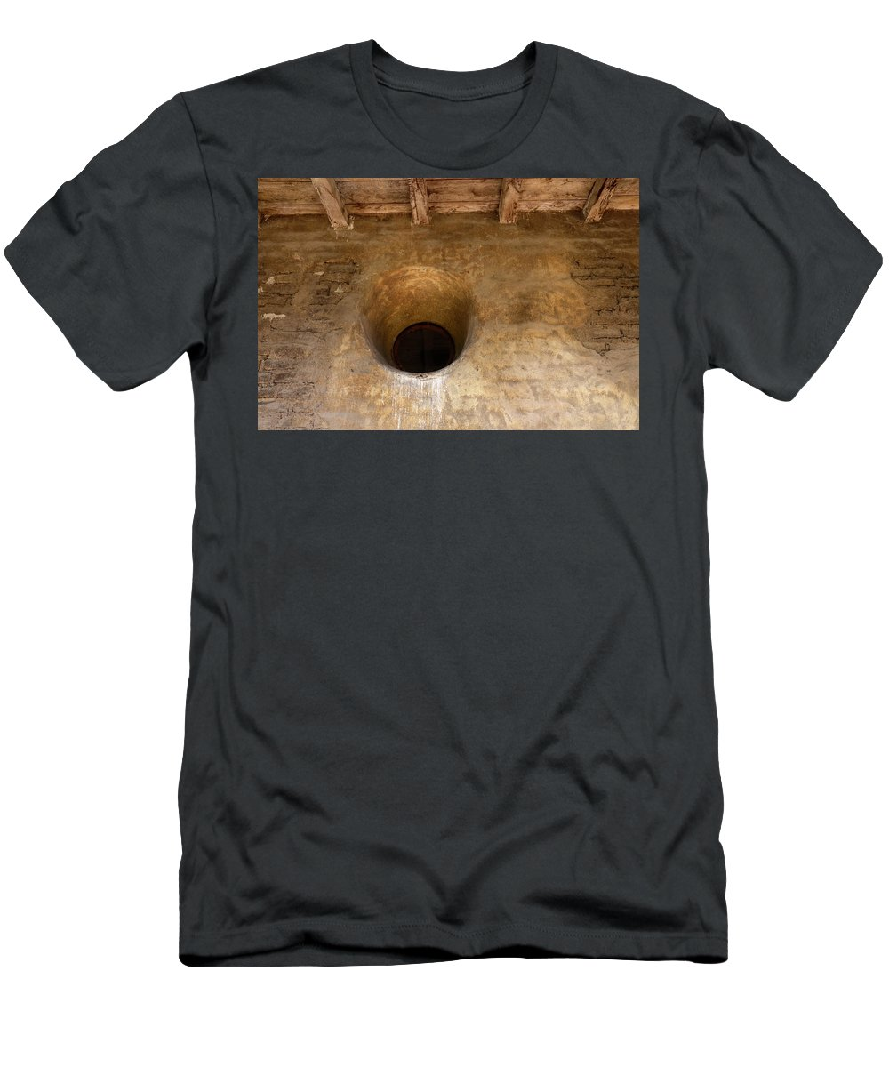 Architecture Men's T-Shirt (Athletic Fit) featuring the photograph Window Detail by Bob Christopher