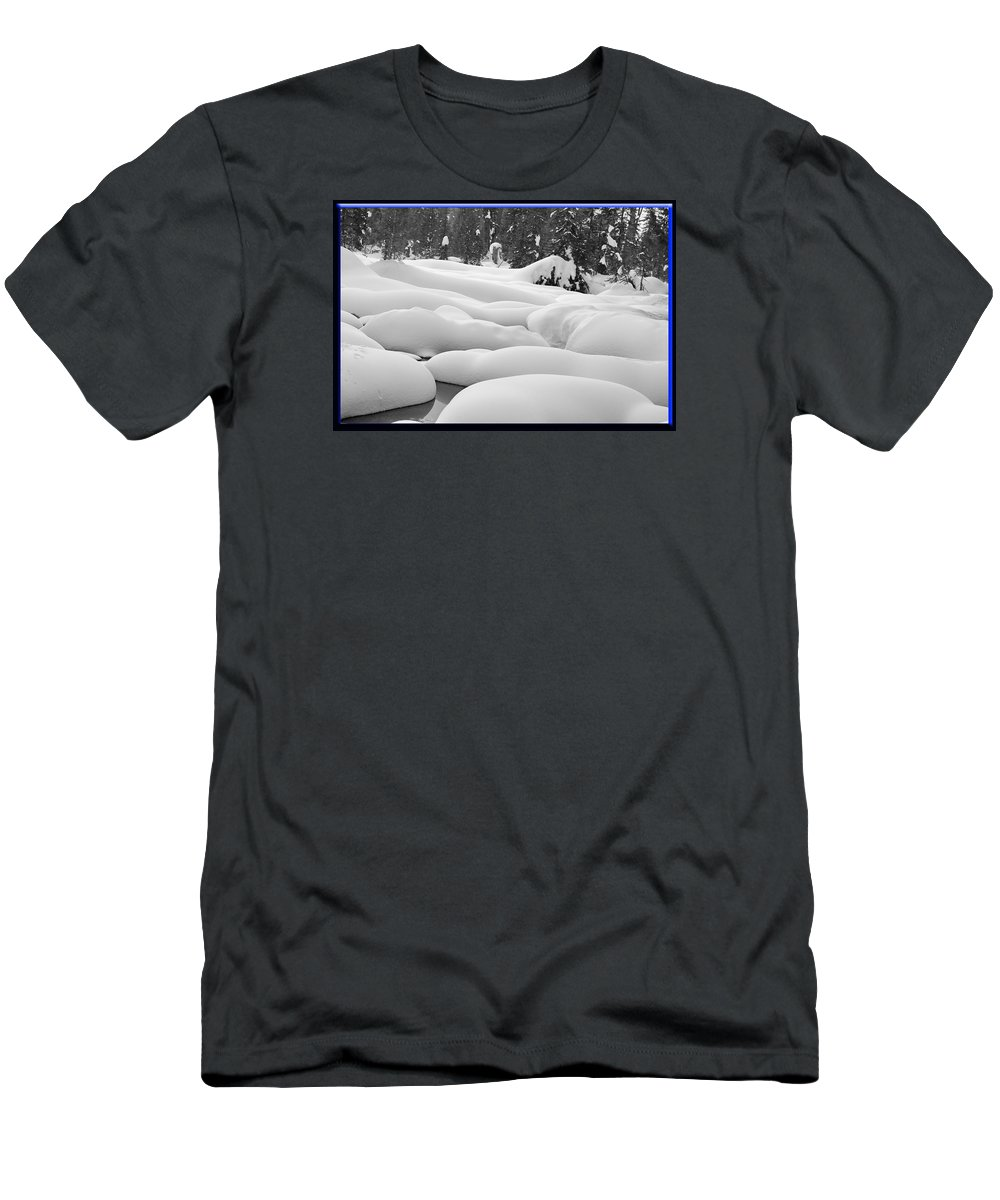 Hyak Men's T-Shirt (Athletic Fit) featuring the photograph Winterwonderland by BYETPhotography