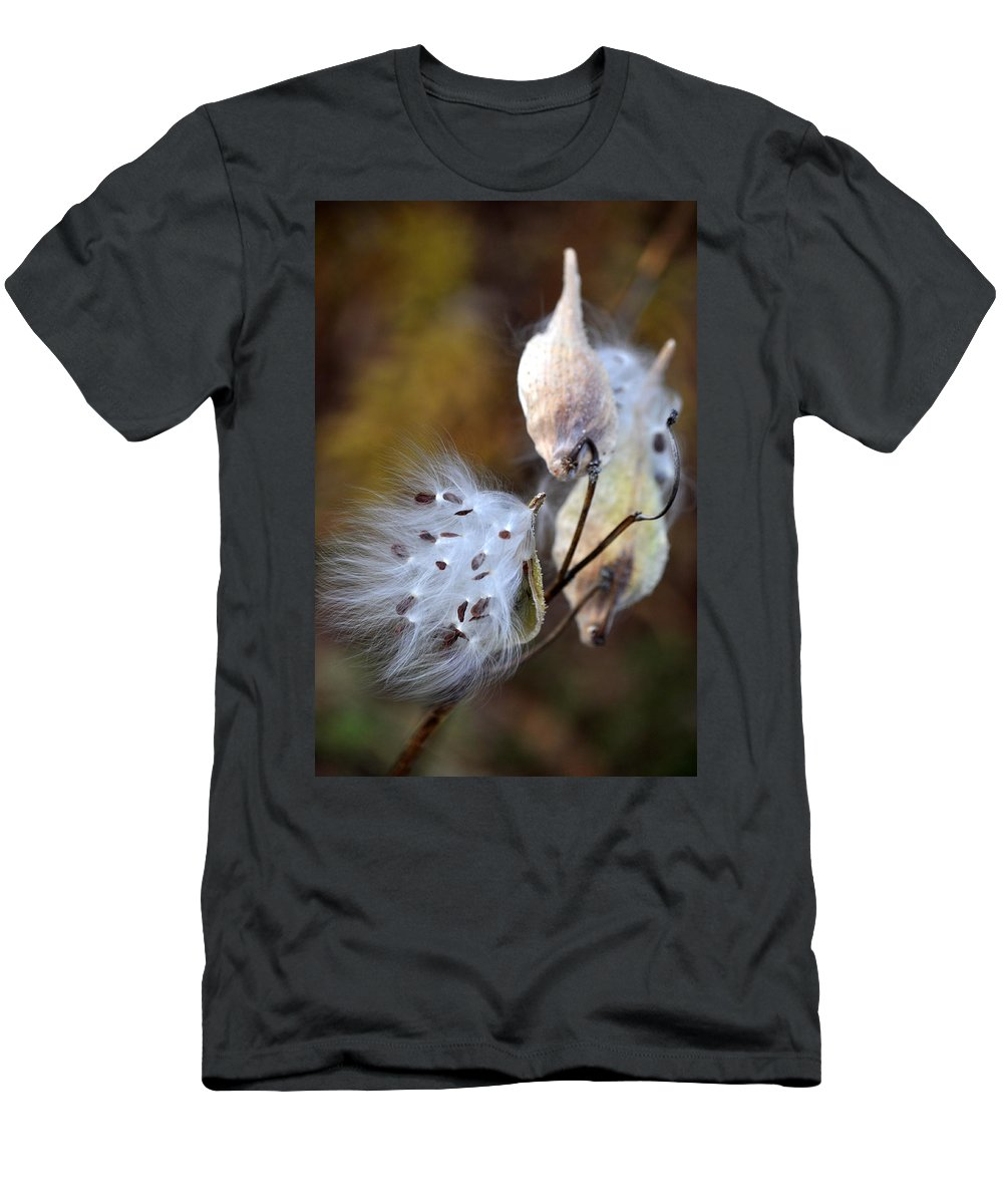 Flower Men's T-Shirt (Athletic Fit) featuring the photograph Wish You Were Here by Trish Tritz