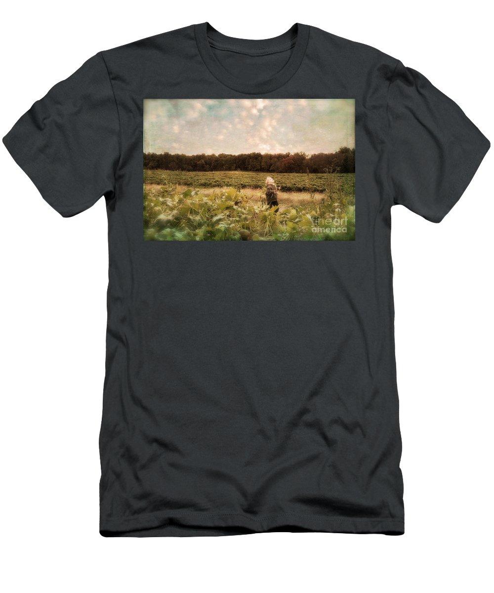 Landscape Men's T-Shirt (Athletic Fit) featuring the photograph Wonder by Lois Bryan