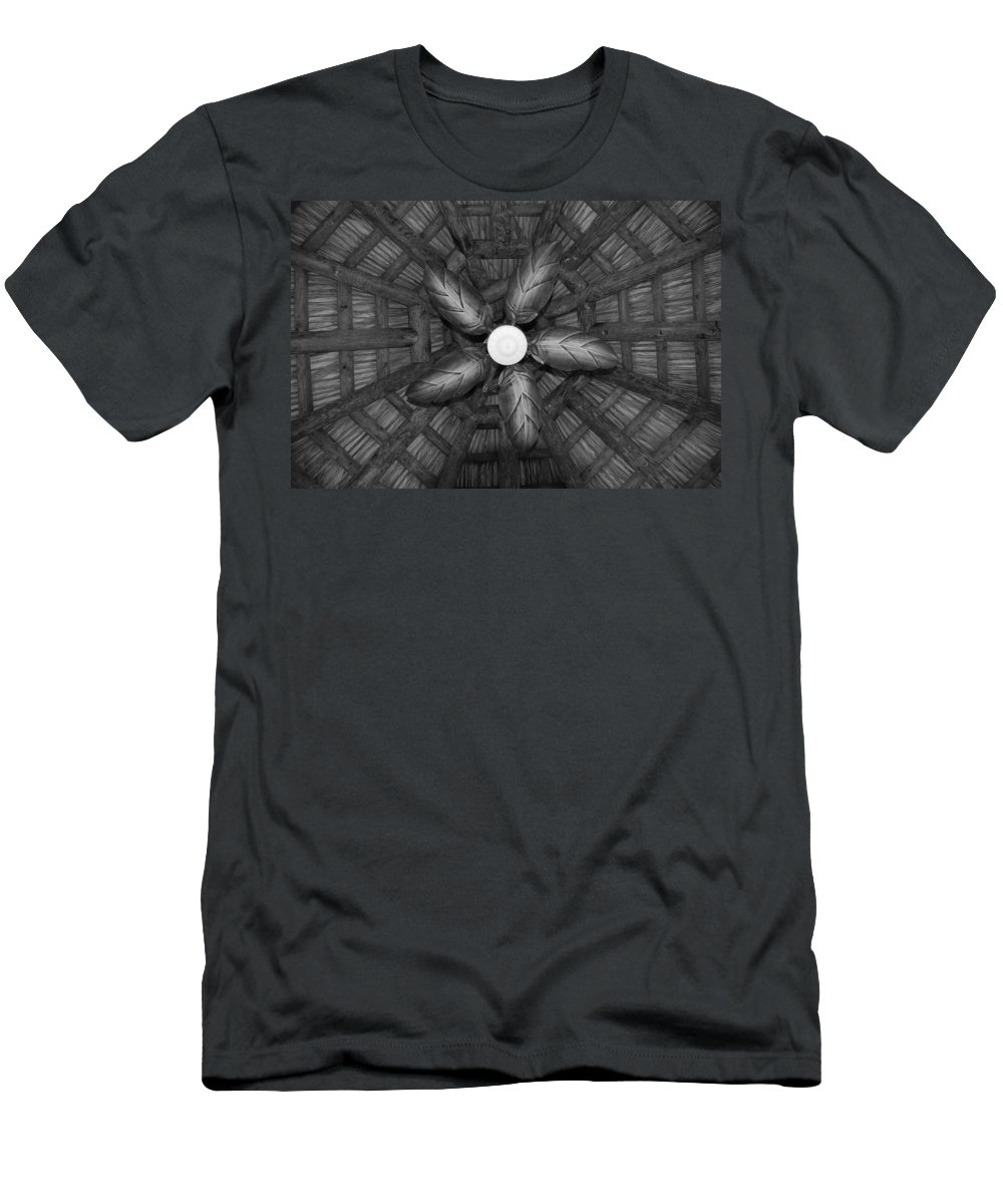 Fan Men's T-Shirt (Athletic Fit) featuring the photograph Wooden Fan by Rob Hans