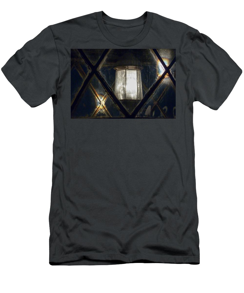 Photography Men's T-Shirt (Athletic Fit) featuring the photograph Works Of The Journey IIi05 by Andreas Theologitis