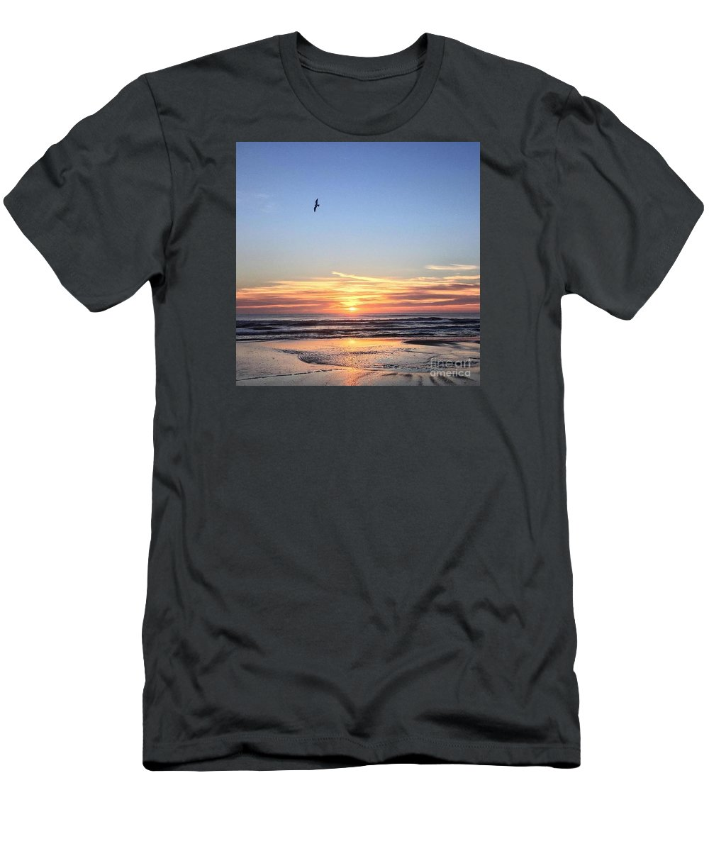 St. Augustine Men's T-Shirt (Athletic Fit) featuring the photograph World Gratitude And Peace Day by LeeAnn Kendall