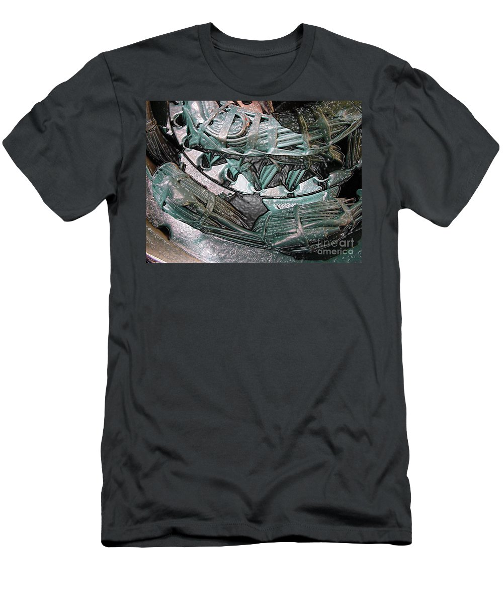Digital Art Men's T-Shirt (Athletic Fit) featuring the digital art Wound Tight by Ron Bissett