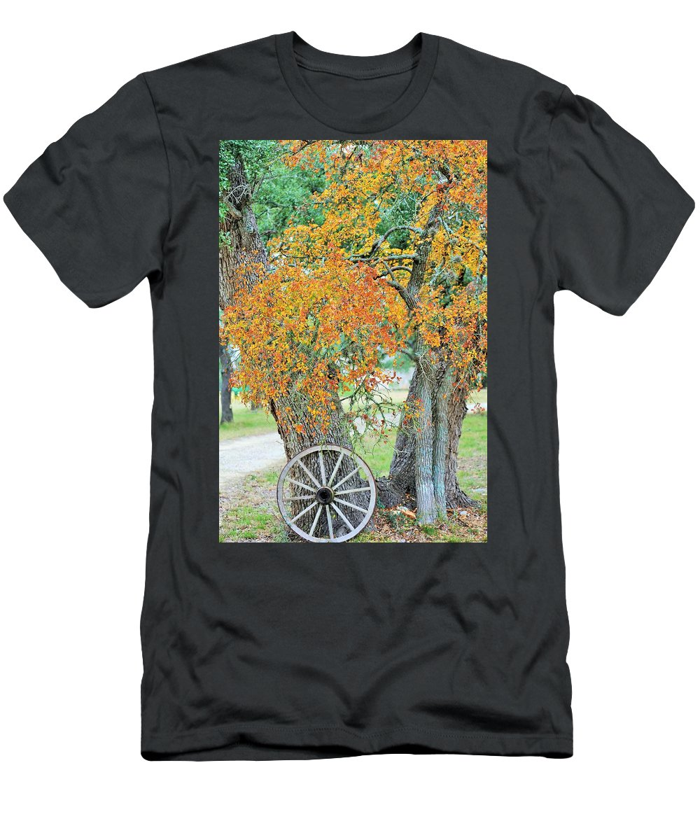 Men's T-Shirt (Athletic Fit) featuring the photograph Ya037 by Jeff Downs