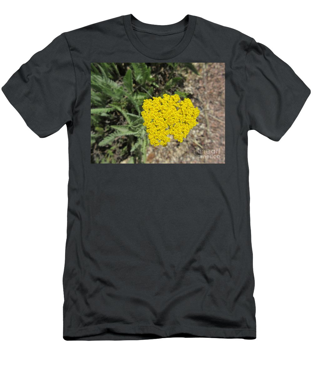 Yellow Men's T-Shirt (Athletic Fit) featuring the photograph Yellow Bloom by Frederick Holiday