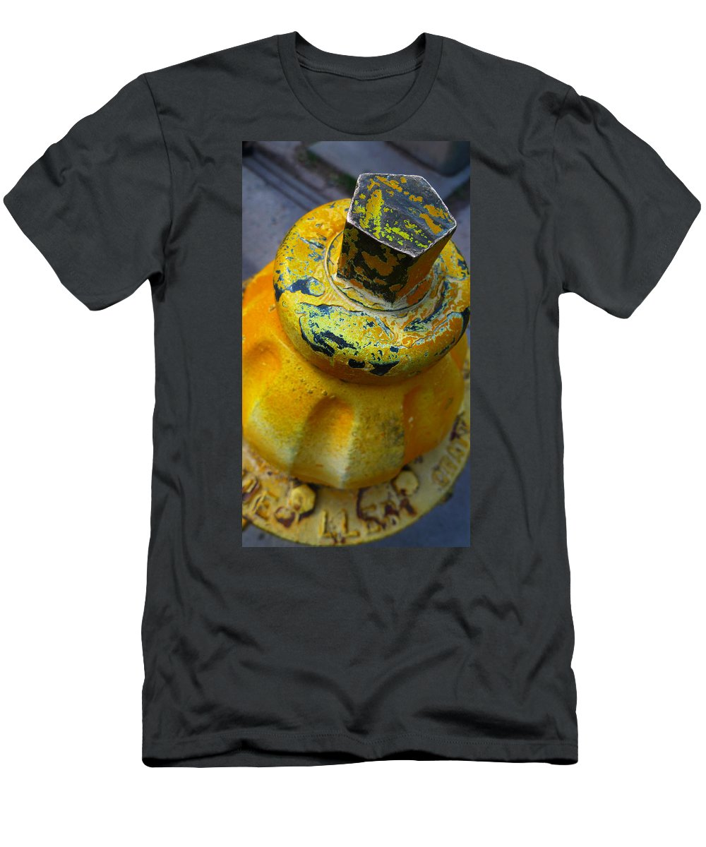 Skip Hunt Men's T-Shirt (Athletic Fit) featuring the photograph Yellow Fever by Skip Hunt