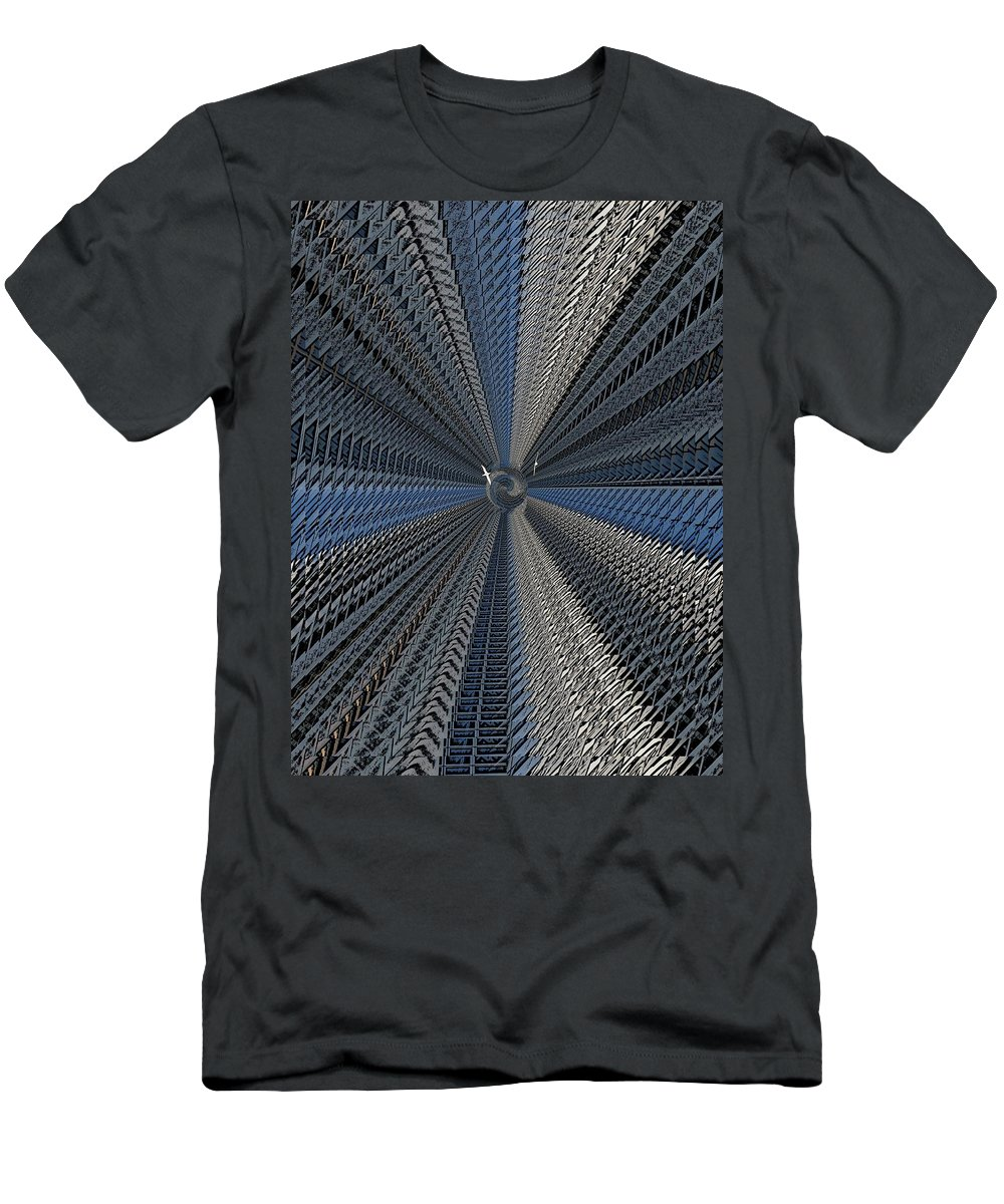 Yin And Yang Men's T-Shirt (Athletic Fit) featuring the digital art Yin And Yang Revisited by Tim Allen