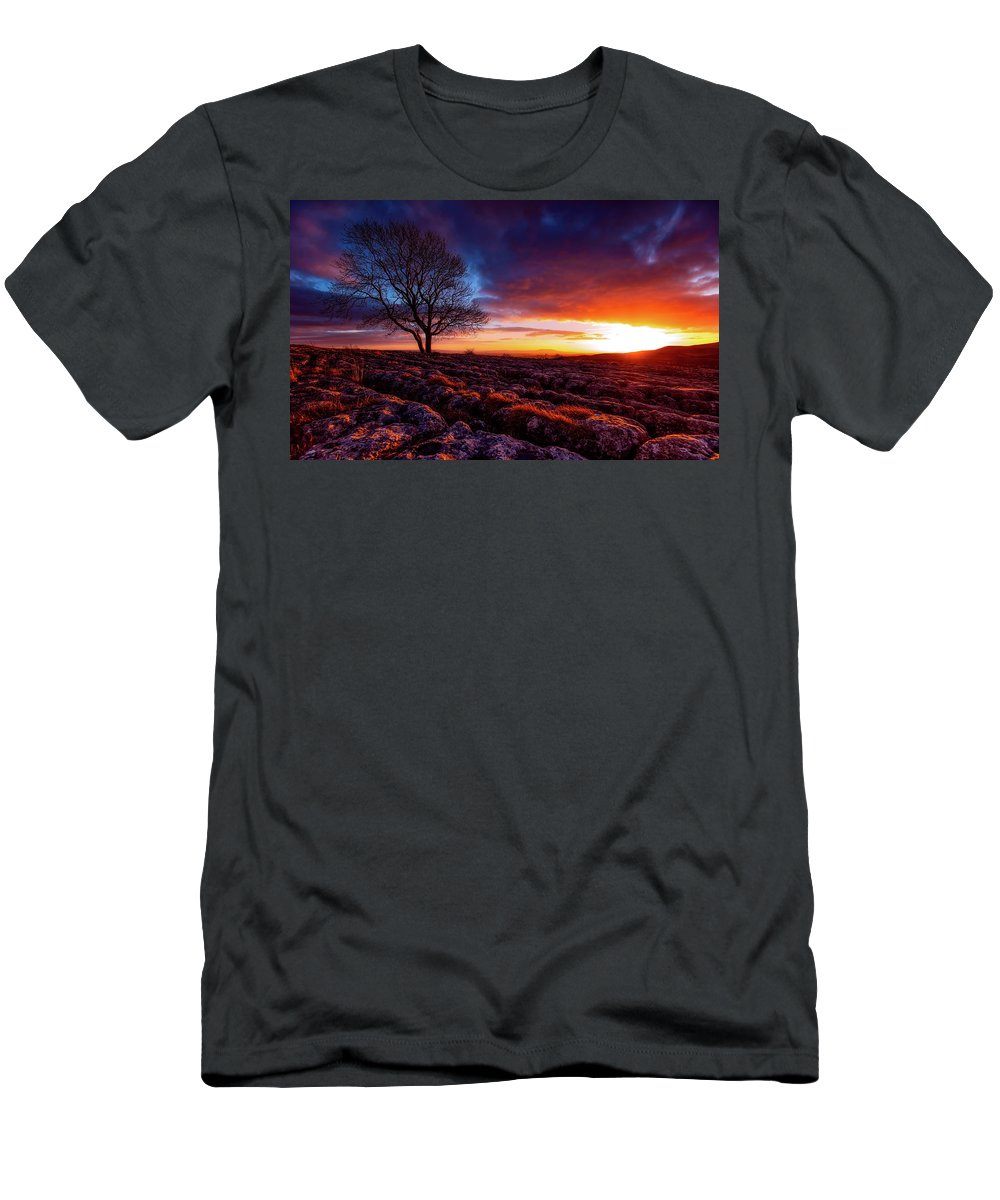 Yorkshire Men's T-Shirt (Athletic Fit) featuring the photograph Yorkshire Beauty by Unsplash