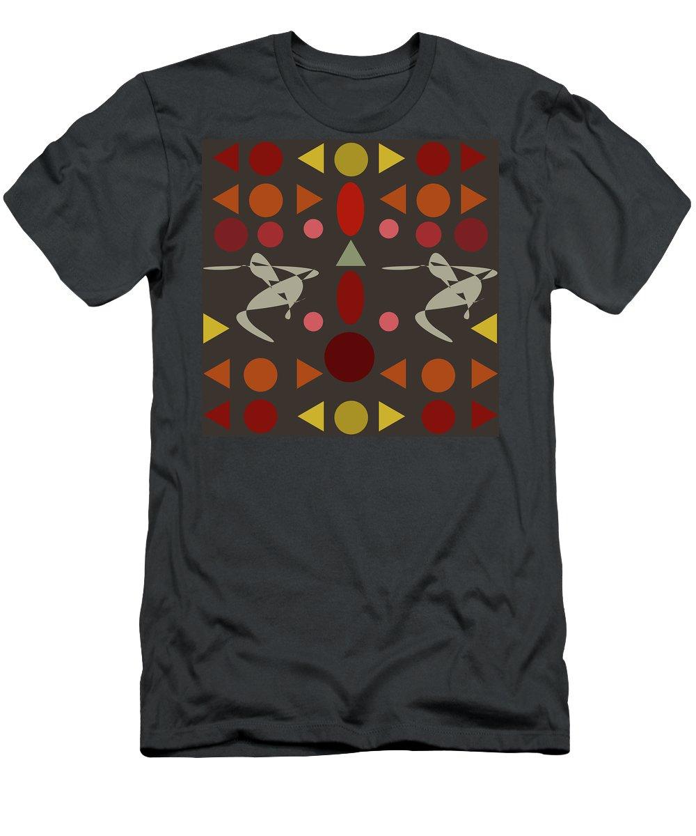 Dance Men's T-Shirt (Athletic Fit) featuring the digital art Zappwaits Dance by Rolf Ebenau