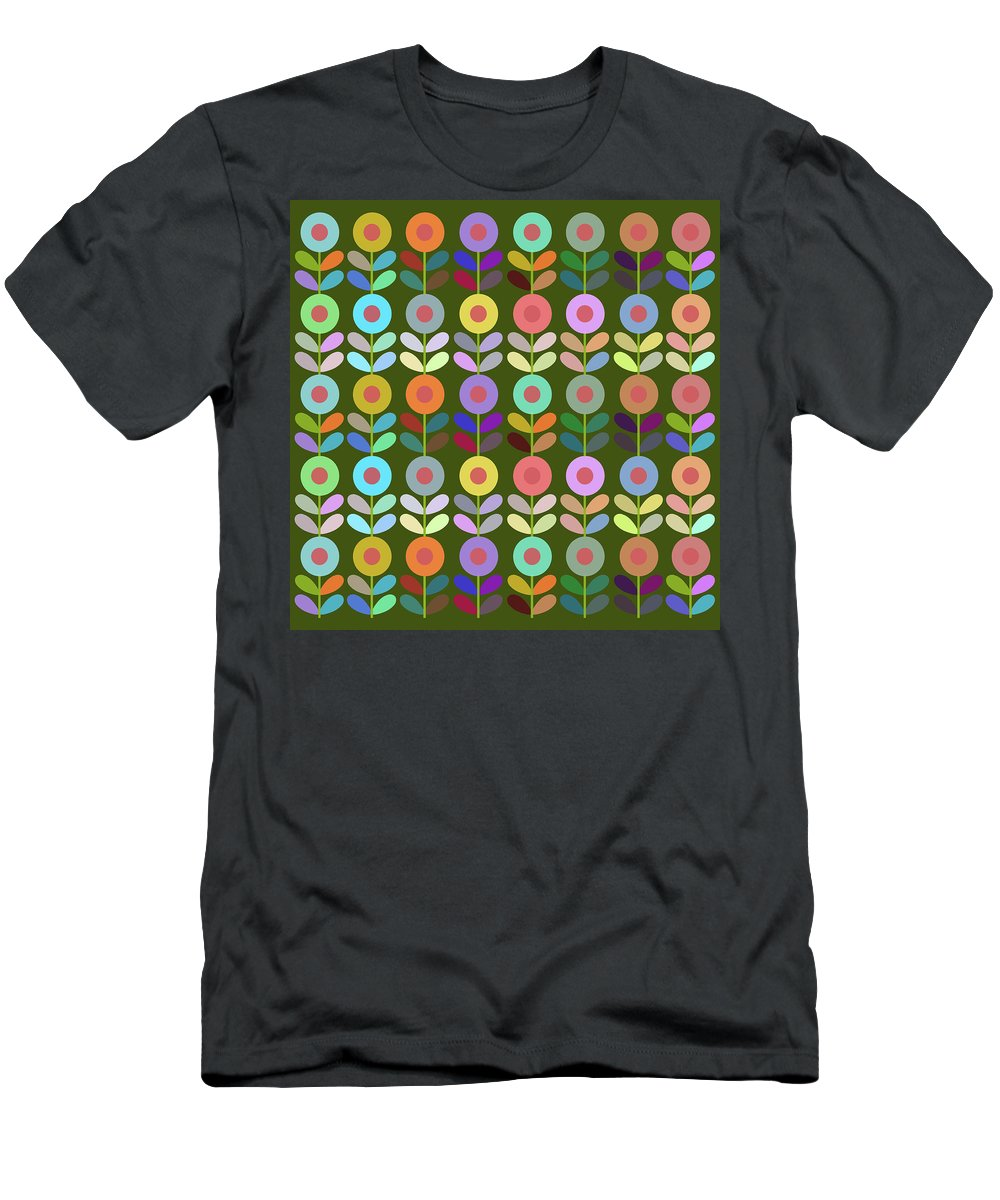 Flower Men's T-Shirt (Athletic Fit) featuring the digital art Zappwaits Flower by Rolf Ebenau