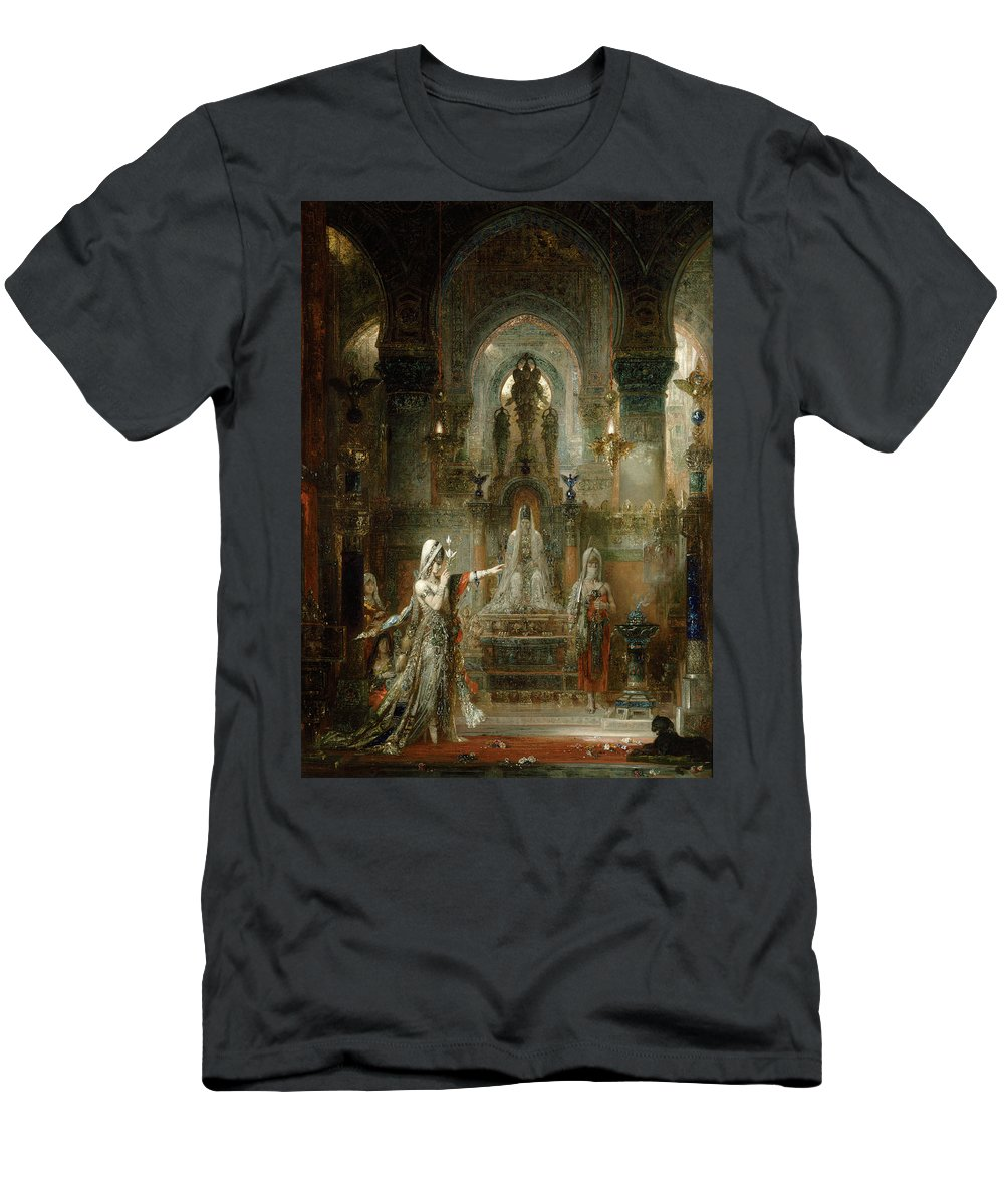Salome Men's T-Shirt (Athletic Fit) featuring the painting Salome Dancing Before Herod by Gustave Moreau